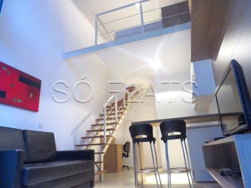 Flat No Brooklin 1 Dorms 40m²  - Sf12068