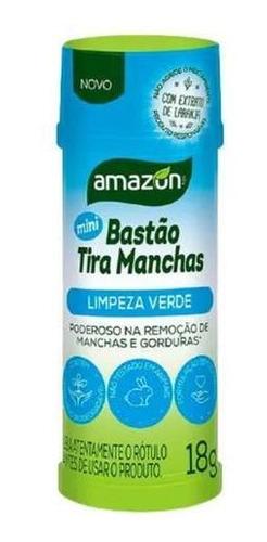 Mini Bastao Tira Manchas Amazon 18g Todos Os Tipos De Tecido