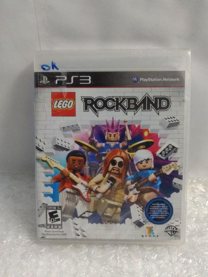 Lego Rockband Ps3 Original Mídia Física Lacrado Novo