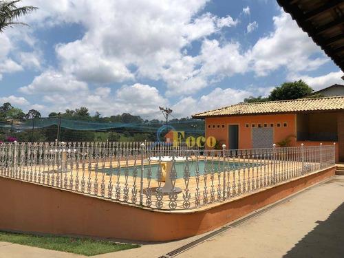 Imagem 1 de 12 de Chácara Com 3 Dormitórios À Venda, 2058 M² Por R$ 690.000,00 - Pomar São Jorge - Itatiba/sp - Ch0136