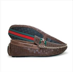 5f2ecba264 Mocassim Masculino Gucci - Sapatos Marrom escuro no Mercado Livre Brasil