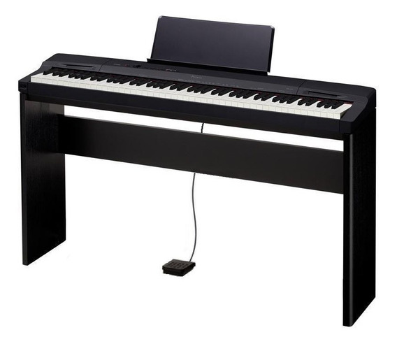 Piano Digital Casio Privia Px-160 Bk+ Estante Cs-67+pedal