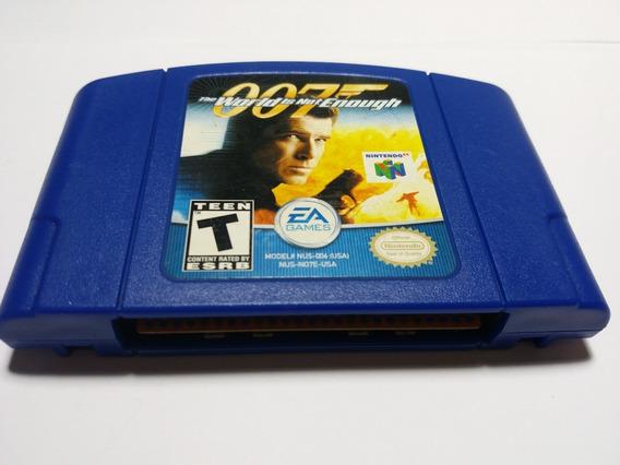 007 The World Is Not Enough Nintendo 64 Original