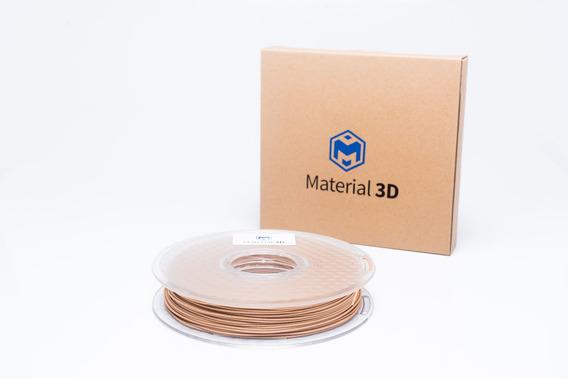 Filamento Tpu + Madeira 1.75mm Mix Madeira 500g Material 3d