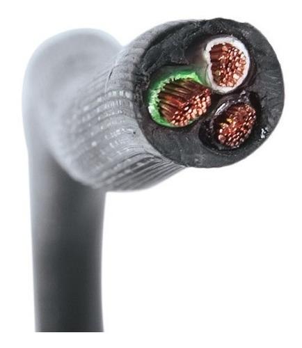 Imagen 1 de 3 de Cable Encauchetado 3x12 Certificado X Metro