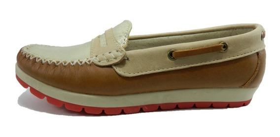 Zapatos Kaprise Mocasines Cuero 4616 4831