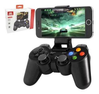 Controle Joystick Bluetooth Celular Android Ios Kp-4039 Knup