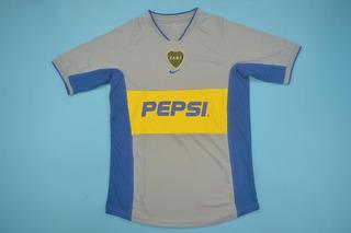 Camisa Boca Juniors Cinza 2001-02 Riquelme 10