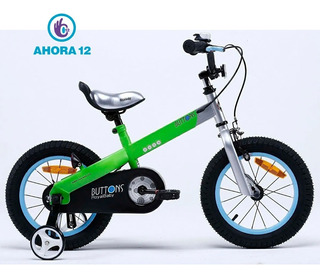 Bicicleta Infantil Royal Baby Buttons Rodado 12 Aluminio