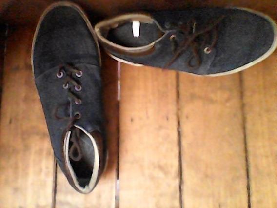 Zapatos De Mezclilla Semi-nuevos