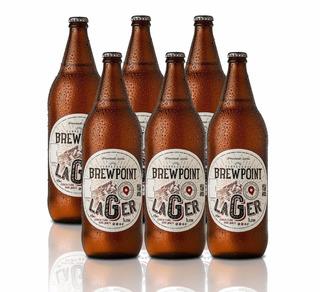 Cerveja Artesanal Brewpoint Lager 1l - 6 Garrafas