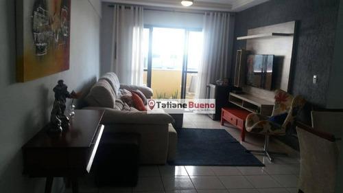 Imagem 1 de 9 de Apartamento Com 3 Dormitórios À Venda, 96 M² Por R$ 583.000 - Jardim Aquarius - São José Dos Campos/sp - Ap2379