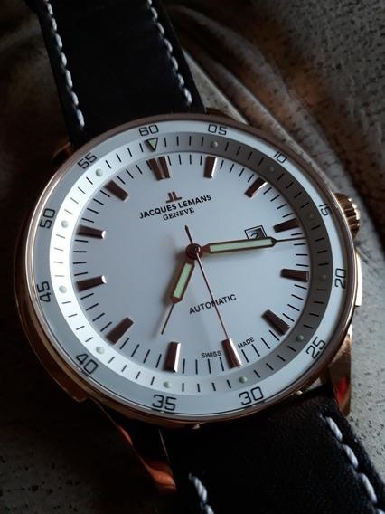 Relógio Jacques Lemans Suíço - G229d - Automático - 50mm