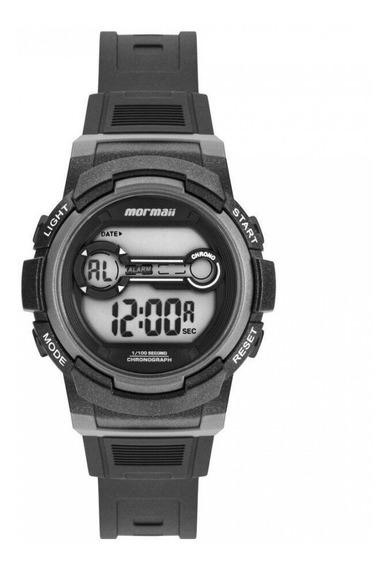 Relógio Mormaii Infantil Digital Mo0200a/8c Pequeno Cinza