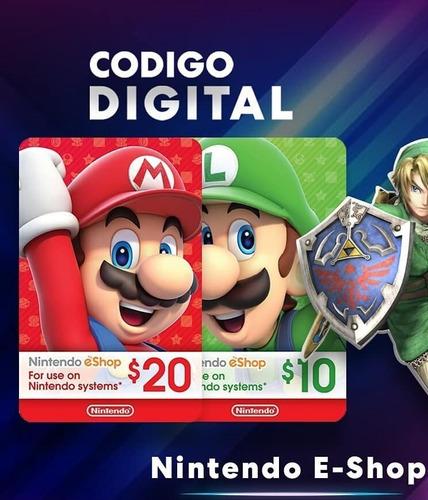 Nintendo Eshop Y Nintendo Online - Tarjeta - Switch - Codig0