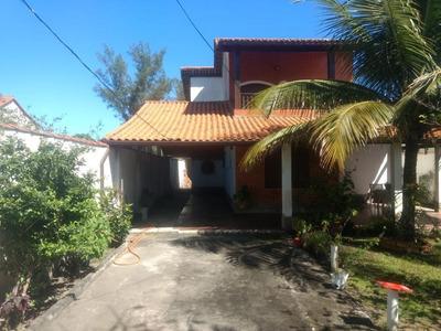 Casa Em Cordeirinho (ponta Negra), Maricá/rj De 253m² 4 Quartos À Venda Por R$ 360.000,00 - Ca214051