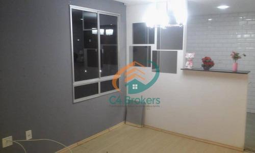 Imagem 1 de 21 de Apartamento Com 2 Dormitórios À Venda, 43 M² Por R$ 195.000,00 - Água Chata - Guarulhos/sp - Ap1391
