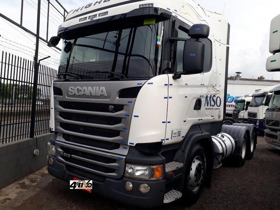 Scania R-510 6x4 High-line 2019 Quartoeixocaminhoes