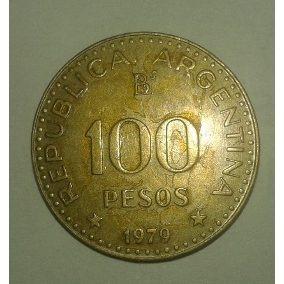 Moneda Argentina De $100 Un Poco Gastada