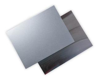 Placa De Aluminio Plata Para Sublimar 15 X 20 Cms Caja C/25