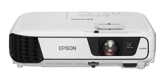 Projetor Epson Powerlite X41+ De 3.600 Lúmens Wi-fi