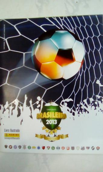 Álbum Campeonato Brasileiro 2013 Com 266 Fig. - Excelente!