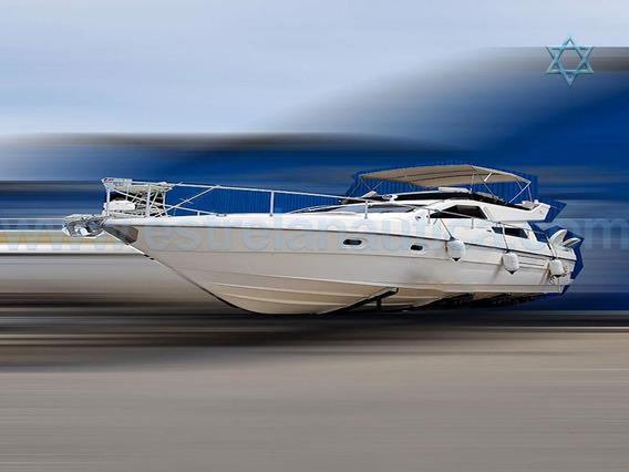Lancha Intermarine 440 Full Barco Iate N Phantom Cimitarra