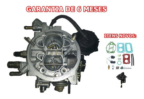 Imagem 1 de 3 de Carburador Fiat Uno Eletronic 93/94 1.0 Tldf Gasolina Weber