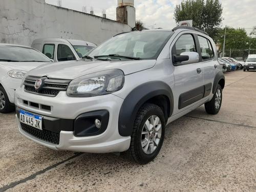 Fiat Uno Way 1.4 Nafta 2019 Gris Ad445