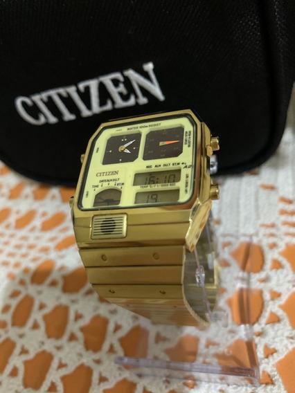 Relógio Citizen Vintage Retrô Anos Década 1980 - Raríssimo