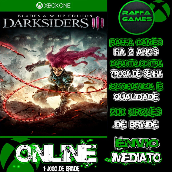 Darksiders 3 Blades & Whip Edition Xbox One Online + Brinde