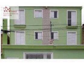 Imagem 1 de 2 de Cobertura Com 2 Dormitórios À Venda, 86 M² Por R$ 379.667,00 - Vila América - Santo André/sp - Co0956