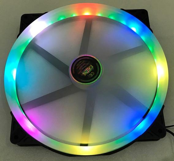 Cooler Fan 200mm X 200mm C/ 32 Leds Rbg Dex - Dx-20w