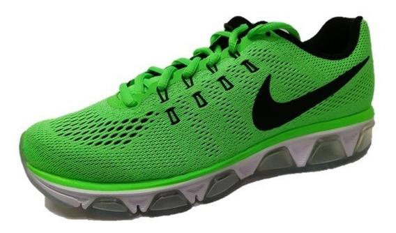 Tenis Nike Air Max Tailwind 8 Verde Limón Envío Gratis
