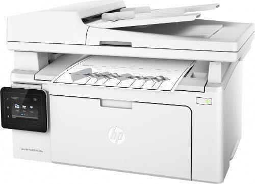 Impresora Multifuncional Láser Hp M130fw Negro Wifi