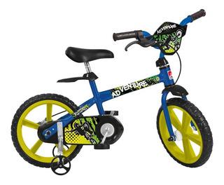 Bicicleta Infantil Aro 14 Bandeirante 3011 Adventure