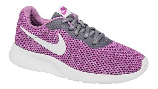 Tenis Nike W Tanjun Se Lila Tallas Del #22 Al #26 Mujer Ppk