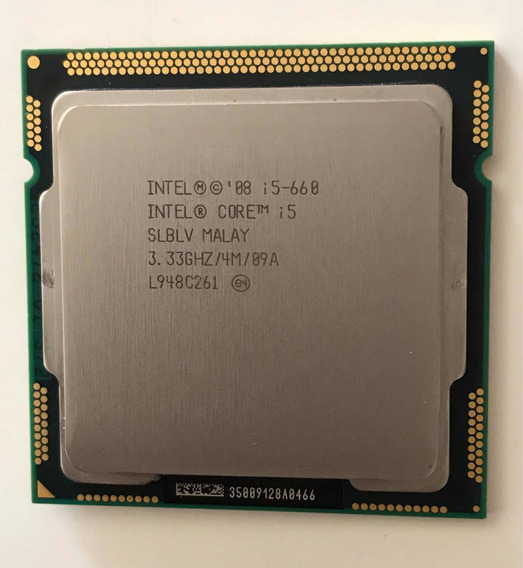 Processador I5 660 Socket 1156 3,33 Ghz
