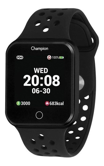 Relógio Champion Smatwatch Preto Ch50006p