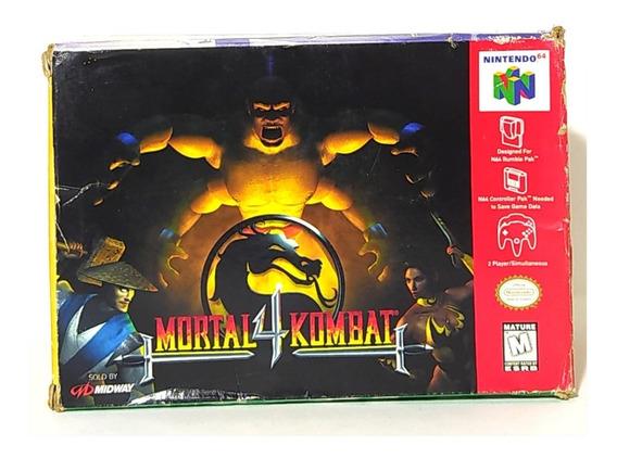 Mortal Kombat 4 Cib Oferta! Loja Campinas
