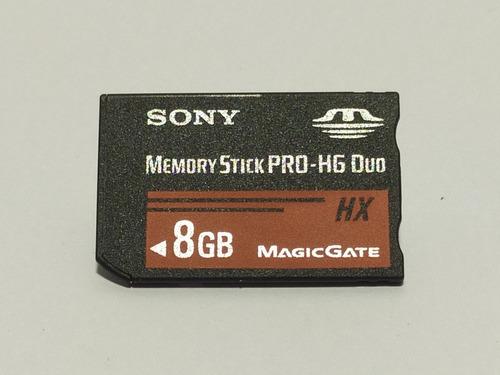 Imagem 1 de 3 de Cartao Memoria Pro Duo Hx 8gb Original