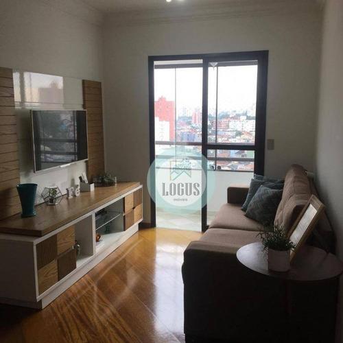Imagem 1 de 15 de Apartamento Com 3 Dormitórios À Venda, 79 M² Por R$ 390.000,00 - Santa Terezinha - São Bernardo Do Campo/sp - Ap1633
