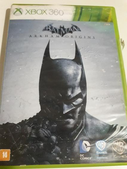 Batman Arkham Origins Xbox 360 Mídia Física Legendas Pt Br