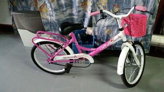 Bicicleta Liberty Sasha Rosa Rodado 16