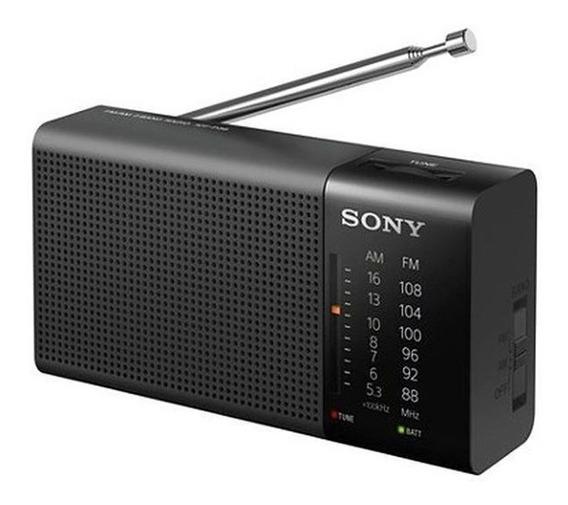 Radio Portátil Sony Icf-p36 Am/fm Preto - Oferta