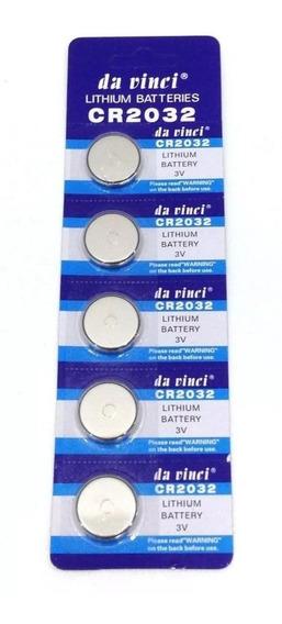 Bateria Lithium Cr 2032 3v Cartela 5 Unidades