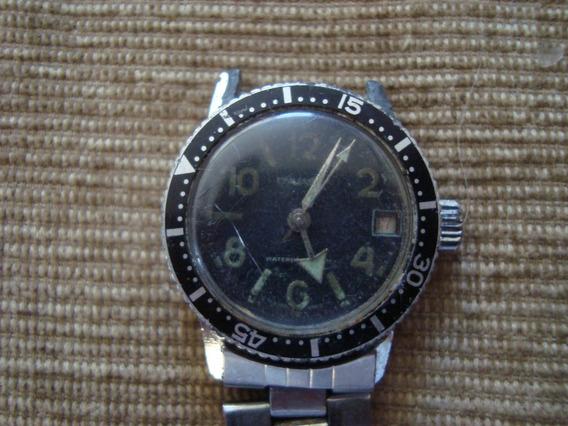Relógio Dynasty Corda Rosqueada, Não Funciona Limpeza, 30mm
