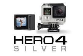 Gopro Hero 4 Silver Com Cartão