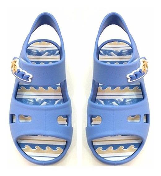 Sandália Colore Pimpolho Para Menino Criança- 012132