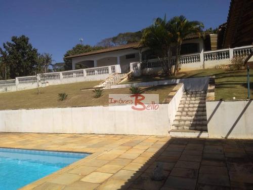 Chácara Com 3 Dormitórios À Venda, 2500 M² Por R$ 650.000,00 - Jardim Do Leste - Itatiba/sp - Ch0321
